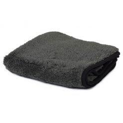 Microfibre polishing cloth black